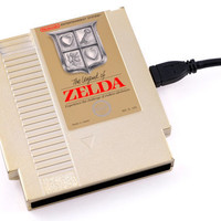 NES Hard Drive  The Legend of Zelda  500GB by 8BitMemory on Etsy
