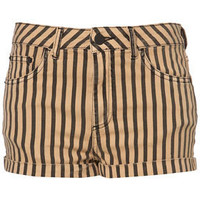 MOTO Striped Hotpants - Shorts  - Clothing  - Topshop