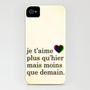 je t&#x27;aime iPhone Case by Krysti Kalkman | Society6