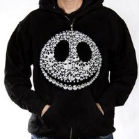 ROCKWORLDEAST - Nightmare Before Christmas, Hoodie, Faces