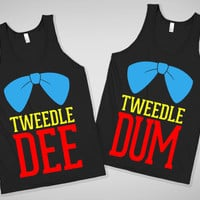 Tweedle Dee &amp; Tweedle Dum Tanks For Buddies