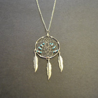 Dreamcatcher Necklace by OriginalsByCathy on Etsy