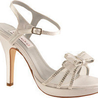Dyeables Pippa - White Satin - Free Shipping & Return Shipping - Shoebuy.com