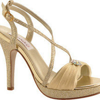 Dyeables Vicki - Gold Metallic - Free Shipping & Return Shipping - Shoebuy.com
