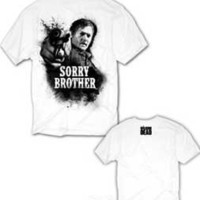 Amazon.com: Walking Dead Daryl Sorry Brother T-shirt: Clothing