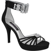 Nina Garima - Black Satin - Free Shipping & Return Shipping - Shoebuy.com