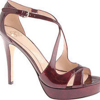 Joan & David Kenley - Dark Red Patent - Free Shipping & Return Shipping - Shoebuy.com