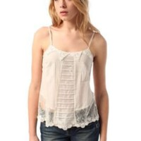 Kimchi Blue Pleated Lace Cami
