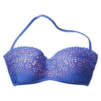 Target : Xhilaration® Junior's Bandeau Swim Top -Blue : Image Zoom