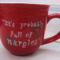 Harry Potter Full of Nargles Mug by GleekOut on Etsy