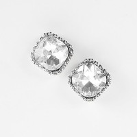 BKE Rhinestone Earring - Women's Accessories | Buckle