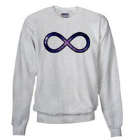 To Infinty and Beyond Galaxy Sweatshirt by CafePress: Clothing