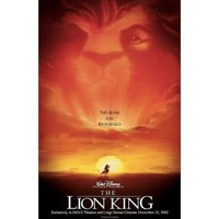 (11x17) The Lion King Movie Poster: Home & Kitchen