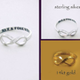 NOW &amp; FOREVER Infinity Ring exclusively by by donnaOdesigns