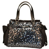 Amazon.com: Juicy Couture Star Shine Sequin Daydreamer Handbag Tote Purse-One Size: Clothing