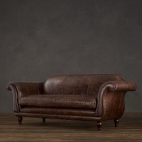 Regency Leather Sofas | Sofas | Restoration Hardware