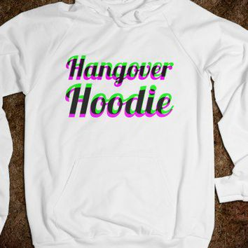 Hangover Hoodie (Pink and Green)