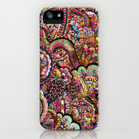 her hair - les fleur edition iPhone Case | Print Shop