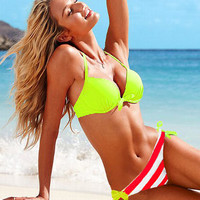 Fashion Sexy Push up Padded  Swimwear Swimsuit