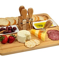 One Kings Lane - Picnic at Ascot - Sherborne Bread & Cheese Serving Set