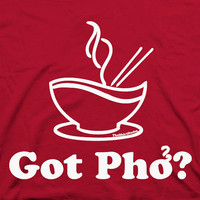 $14.25 Got Pho  Asian Vietnamese food humor by TheShirtDudes