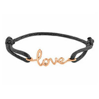 Max &amp; Chloe - Avanessi One Love Black Cord Bracelet - Max and Chloe