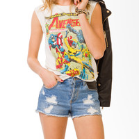 """The Avengers®"" Cap Sleeve Top 