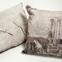 Grisaille Square Pillow Sham