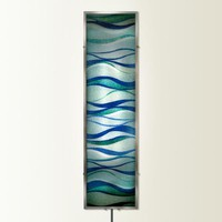 Illuminada - Placid Waves Wall Sconce Light (8809) - Large - Wall Sconce Lights