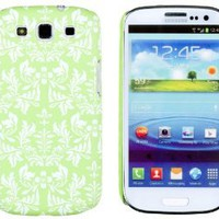 Amazon.com: Neon Green Flower Embossed Slim Fit Hard Case for Samsung Galaxy S3 (AT&T, T-Mobile, Sprint, Verizon, US Cellular, International) [Retail Packaging by DandyCase with FREE Keychain LCD Screen Cleaner]: Cell Phones & Accessories