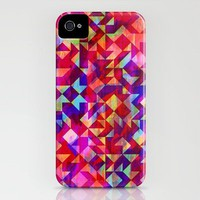 Geo Gem iPhone Case by Amy Sia | Society6