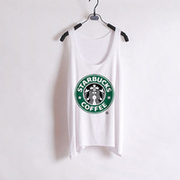 Starbucks Tank Top from ShopWunderlust