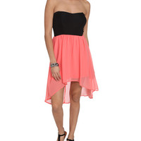 Sweetheart 2Fer High-Low Dress | Shop Dresses at Wet Seal