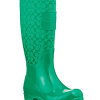COACH PEARL RAINBOOT - Winter & Rain Boots - Shoes - Macy's