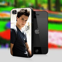 Josh Hutcherson With Signature - Print On Hard Cover For iPhone 4,4S