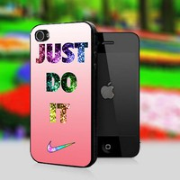 Nike Just Do It bling - Print On Hard Cover For iPhone 4,4S