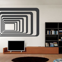 Visual Effects - Tunel - Wall Decals , Home WallArt Decals