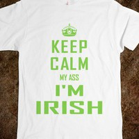 Keep Calm Irish