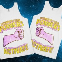Wondertwin Powers Activate! Best Friend Tanks