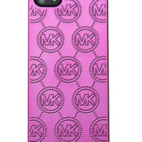 MICHAEL Michael Kors iPhone 5 Case, Tech Monogram Embossed - Shop All - Handbags & Accessories - Macy's
