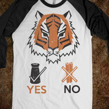 Tigers Hate Cinnamon (Baseball Tee) - Popvault