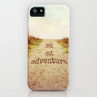Seek out adventure iPhone Case by Sylvia Cook Photography