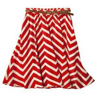 Xhilaration® Juniors Belted Skirt - Assorted Colors