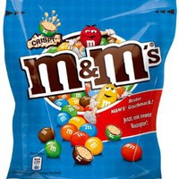 Crispy M&M's Chocolate Candy with Crisped Rice Center, 170g Bag - Rare: Amazon.com: Grocery & Gourmet Food