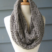 Crochet PATTERN  pdf  Ripley Infinity Scarf  by ArtsyCrochet