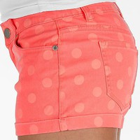 Tinseltown Neon Polka Dot Stretch Short - Women's Shorts | Buckle