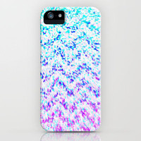 Chevron Splash iPhone Case by MN Art