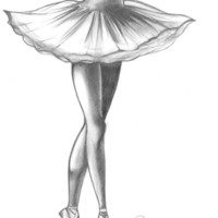 Ballerina - Ashley Rose Stretched Canvas by AshleyRose | Society6