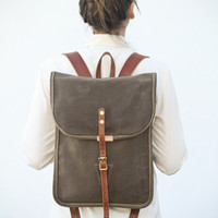 This small backpack is perfect for many different... - Ethanmade
