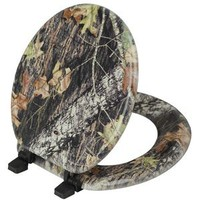Walmart: Beneke Magnolia Camouflage Mossy Oak Break Up Pattern Toilet Seat